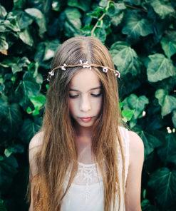 Le headband Rachel de la collection Fille de la Balle est angélique
