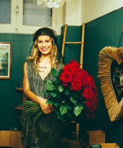 Le headband Ida de la collection Courtise-Moivous sublimera le temps d'une soirée, d'une fête ou d'un rendez-vous galant