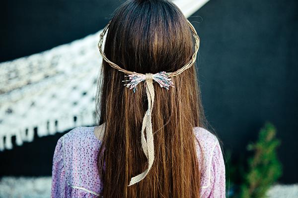 lookbook headband ava fille de la balle