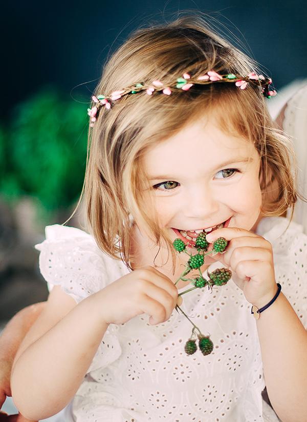 LOOKBOOK headband rosalie fraise ma petite chérie