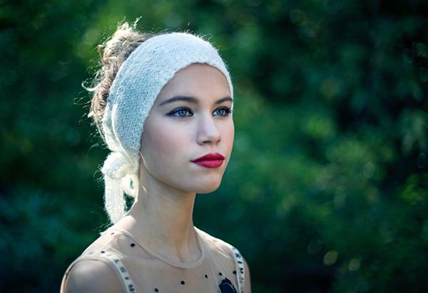 Lookbook Ida Degliame collection hiver Protège-Moi modèle Mon Sylvie couleur Lait
