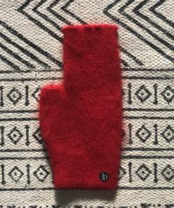 La mini mitaine Jane Ida Degliame se décline également en rouge