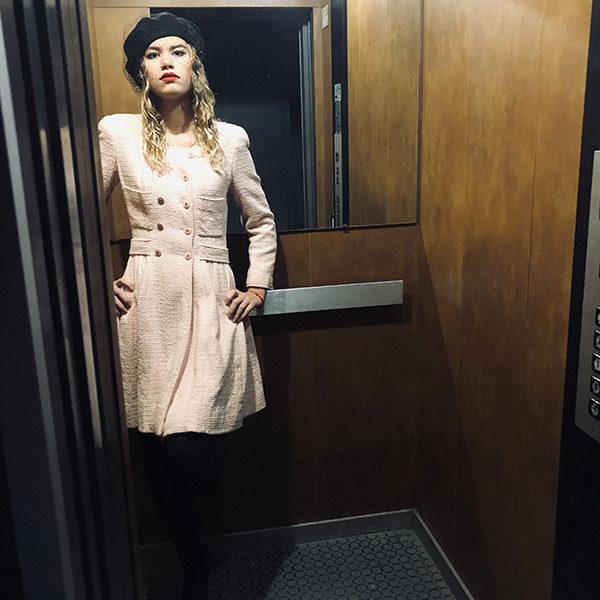 Le béret Bonnie IDA DEGLIAME est une ode au cinéma Italien