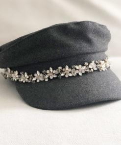 La casquette de la Villette Ida Degliame existe en taille unique pour femme ( 56 -57-58)