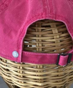 La SUPERBE IDA DEGLIAME existe en couleur framboise et est réglable à l'arrière.
