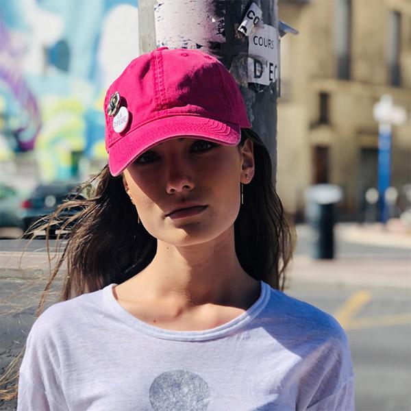 Casquette La Superbe Rose Ida Degliame Mobile