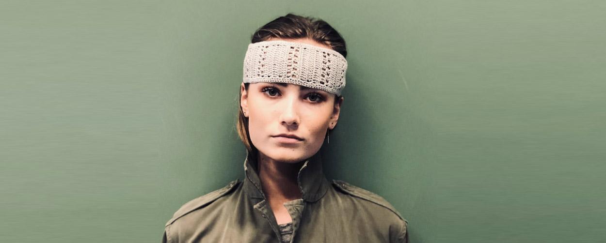 Headband Kate Beige Ida Degliame