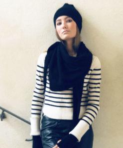 Le bonnet Anita IDA DEGLIAME vous accompagnera tout l'hiver pour une allure chic et décontractée