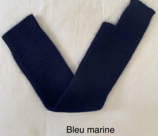longue mitaine SERGE IDA DEGLIAME bleu marine