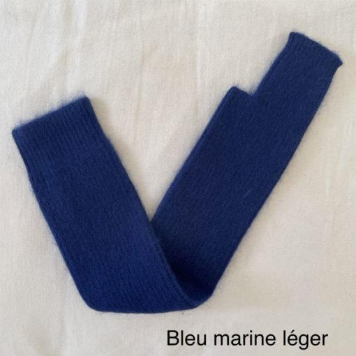 longue mitaine SERGE IDA DEGLIAME bleu marine léger