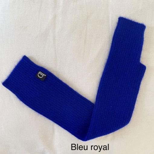 longue mitaine SERGE IDA DEGLIAME bleu royal