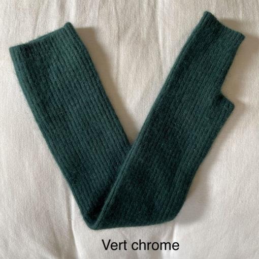 longue mitaine SERGE IDA DEGLIAME vert chrome