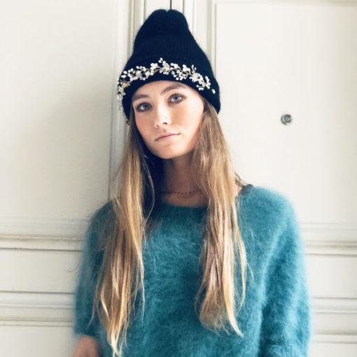 Chic, rock ou casual, le bonnet Lila IDA DEGLIAME viendra compléter votre look d'hiver