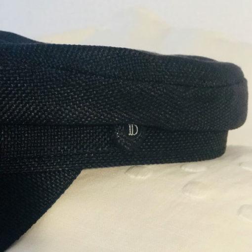 La Casquette du Bassin IDA DEGLIAME noire est un modèle en coton et lin.