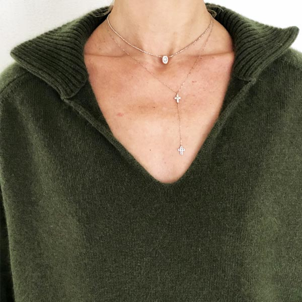 Le pull La Vareuse Amoureuse IDA DEGLIAME couleur kaki est un pull femme, forme marin