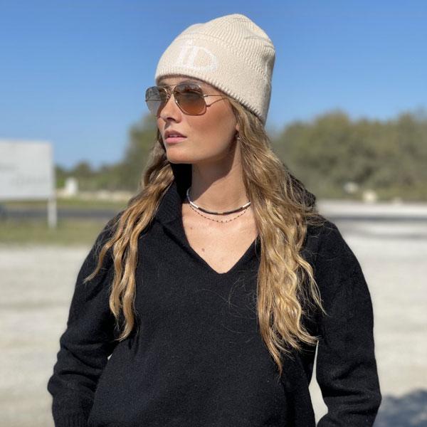 Le pull La Vareuse Amoureuse IDA DEGLIAME est un pull femme qui existe en couleur noir