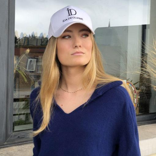 Pour un style décontracté, optez pour la casquette ID IDA DEGLIAME