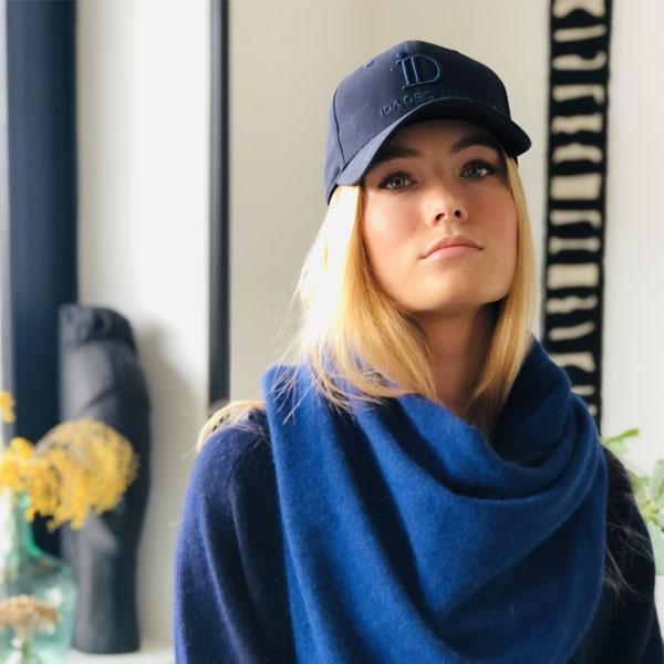 Pour un style chic, optez pour la casquette ID IDA DEGLIAME