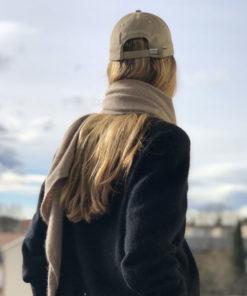 La casquette ID Ida Degliame taupe est réglable