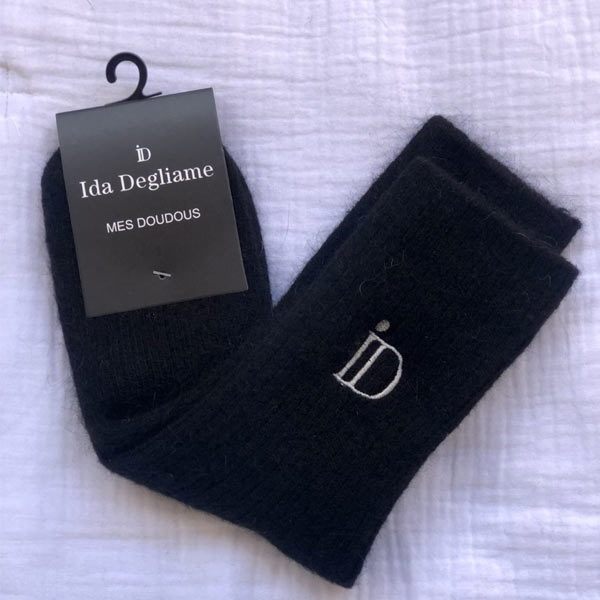 Les chaussettes Mes Doudous Ida Degliame sont unisexes et existent en taille unique (du 36 au 45)