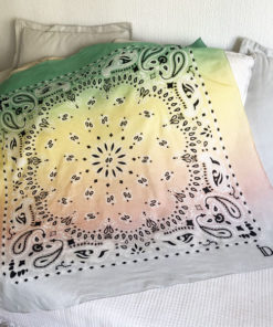 Le foulard 80 IDA DEGLIAME EST 100% coton