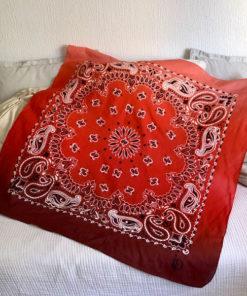 Dimension du foulard 80 IDA DEGLIAME : 100 cm X 100 cm.