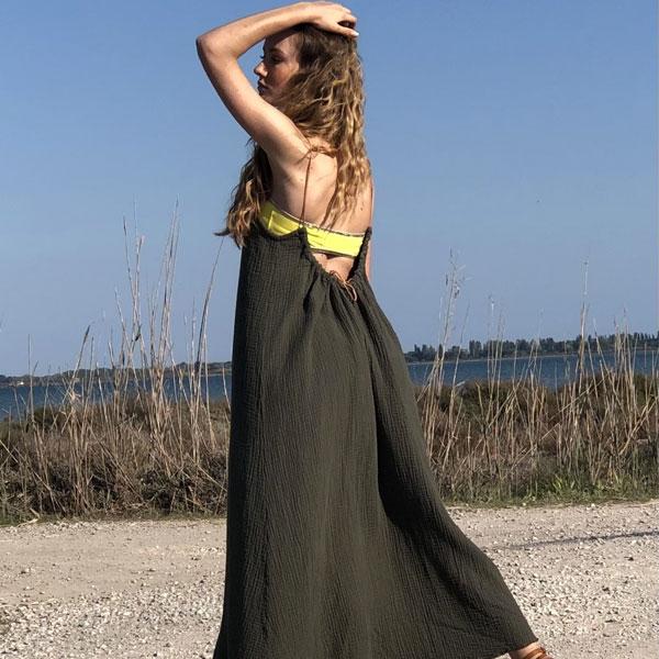 La robe dos nu CALI IDA DEGLIAME est chic